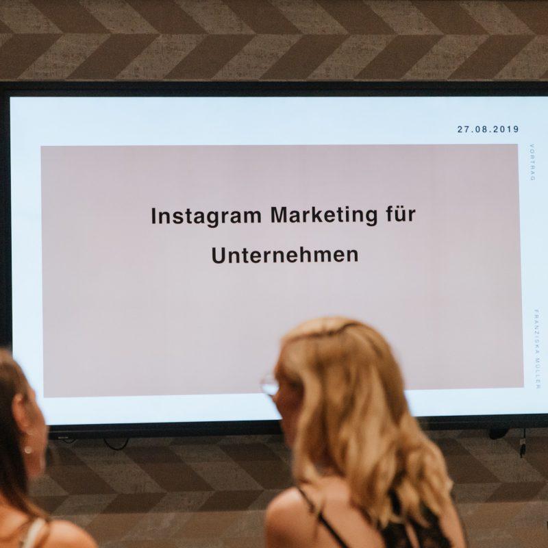 Vortrag Instagram Marketing für Unternehmen 1